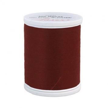 Fil à coudre polyester lie de vin 2500