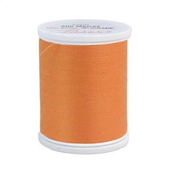 Fil à coudre polyester abricot 2600