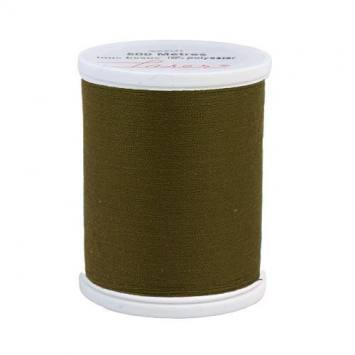 Fil à coudre polyester vert foncé 2746
