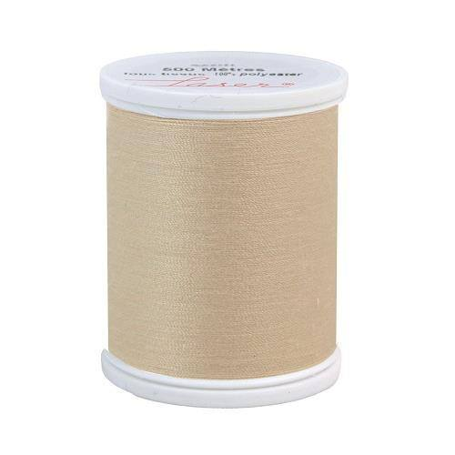 Fil à coudre polyester 500m beige 2802