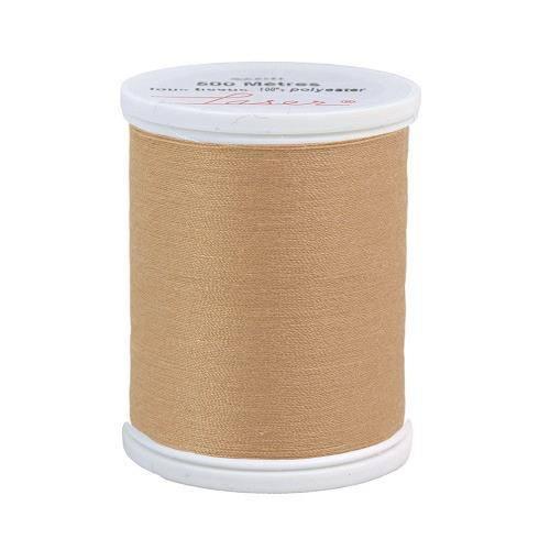 Fil à coudre polyester 500m beige foncé 2808