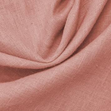 Toile de jute rose