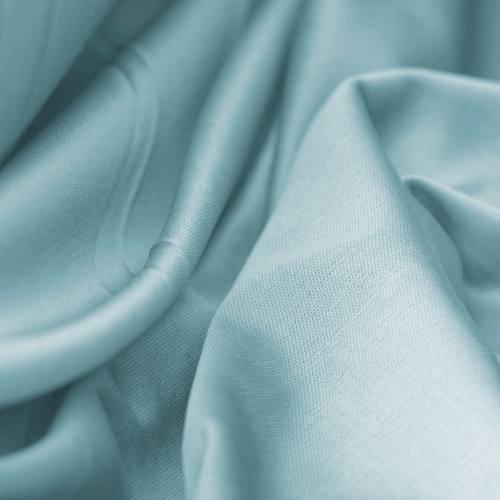 Maille extensible unie bleu clair