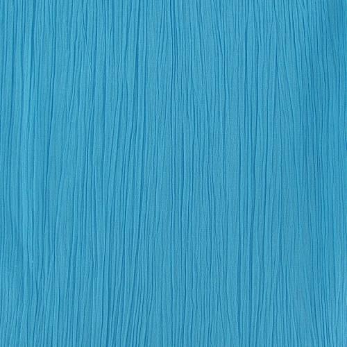 Mousseline crépon turquoise