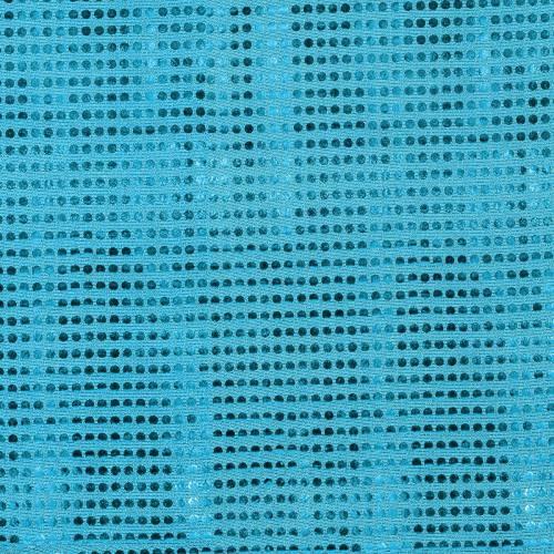 Tissu paillettes turquoise