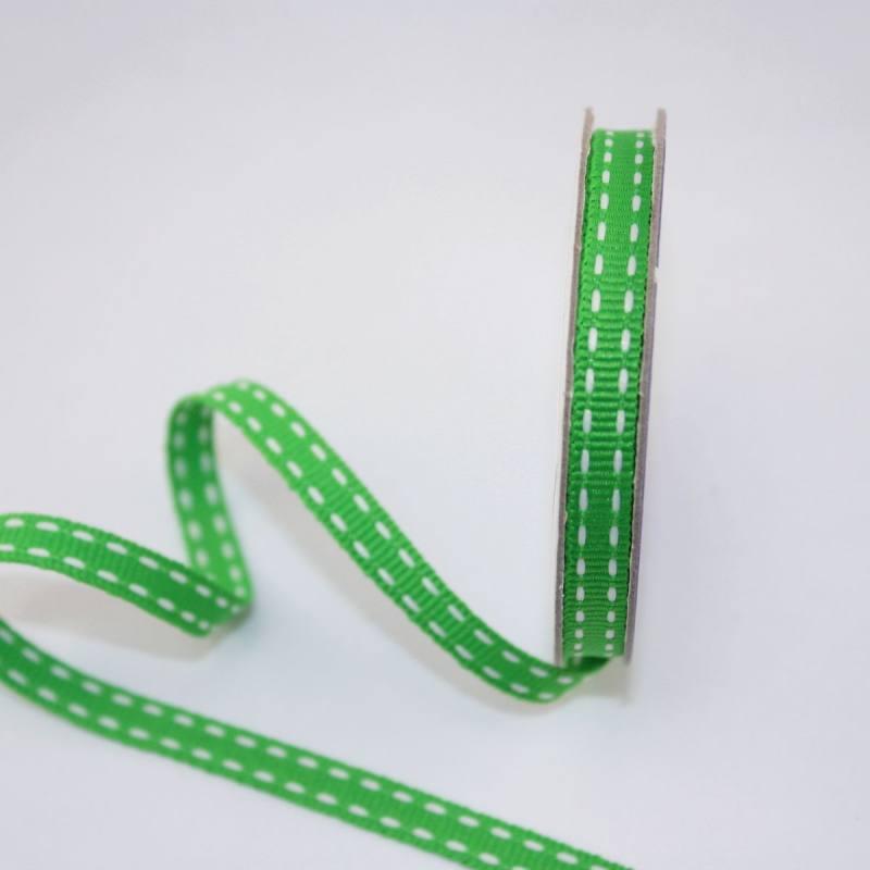 Ruban en bobine vert 6 mm