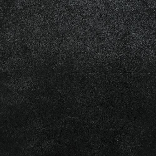 Simili cuir effet vieilli brillant noir