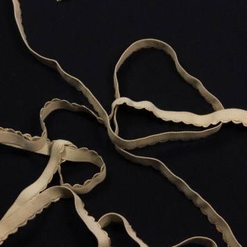 5 mètres d'élastique lingerie beige 50