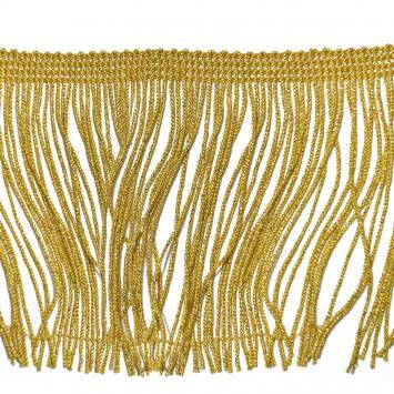 Frange lurex dorée 10cm