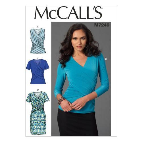 Patron Mc Call's M7249: Hauts et Robes Taille: 42-50
