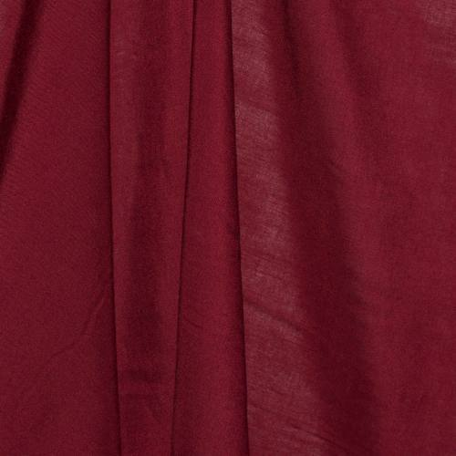 Viscose unie bordeaux