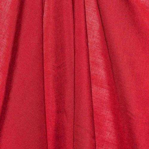 Viscose unie rouge