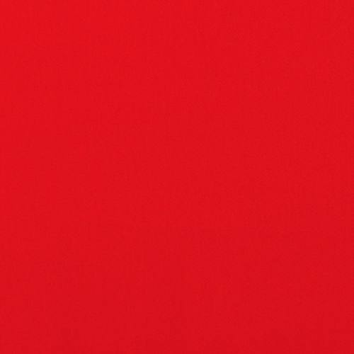 Coton stretch uni rouge