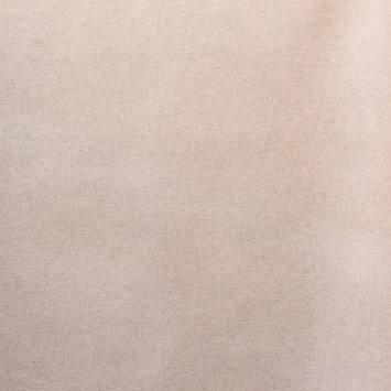 Coton enduit naturel vanille