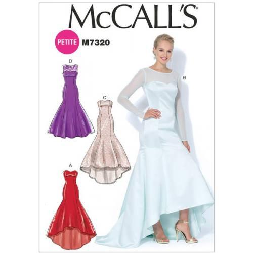 Patron Mc Call's M7320: Robe Taille: 34-42