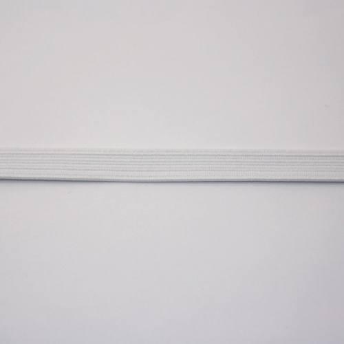 Elastique blanc 9 mm
