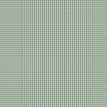 Coton vichy vert foncé 3 mm