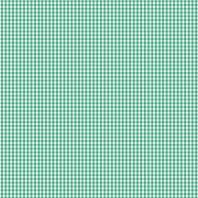 Coton vichy vert 3 mm