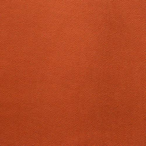 Velours aspect simili cuir orange