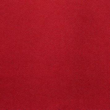 Velours aspect simili cuir rouge