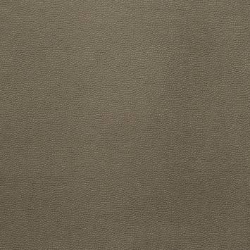 Velours aspect simili cuir taupe