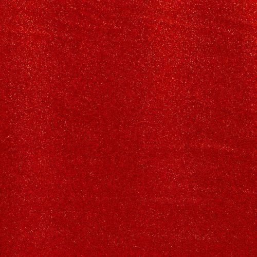 Simili cuir rouge brillant