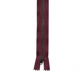 Fermeture pantalon 12 cm métal non séparable Col 116