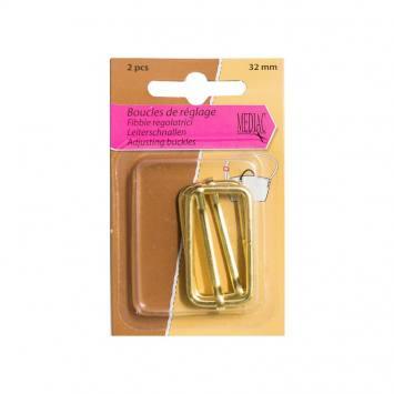 Boucles de réglage or 32 mm