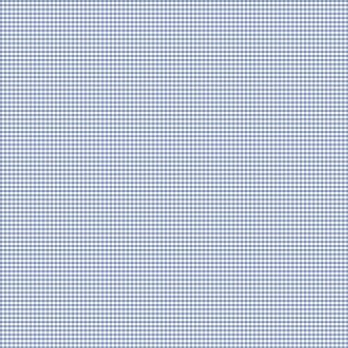 Coton vichy bleu serenity 3 mm