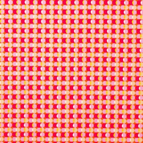 Coton bulle rose
