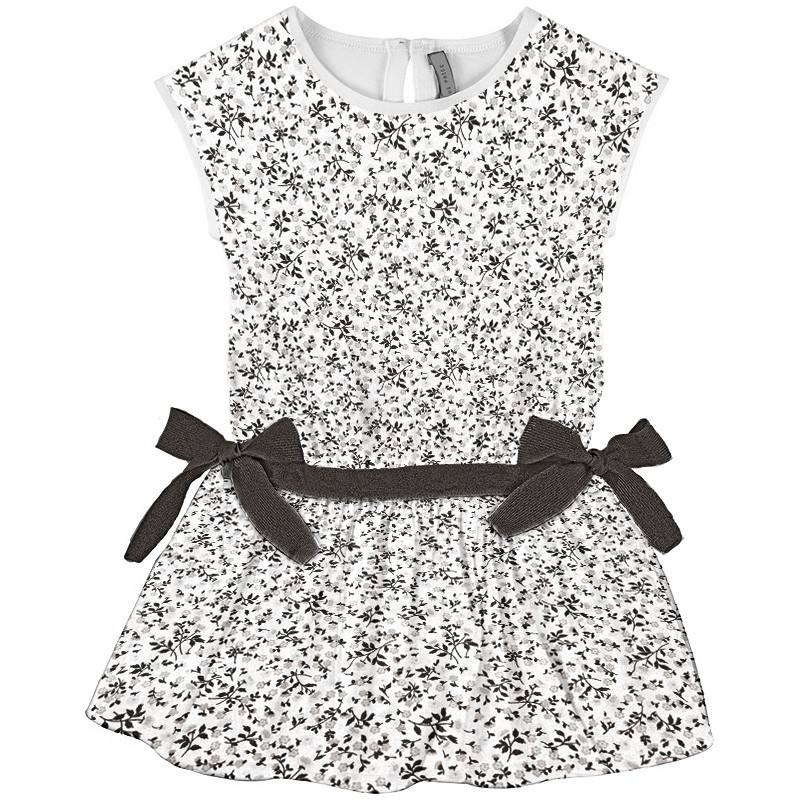 Coton blanc liberty noir