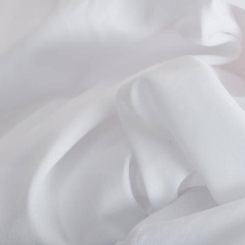 Rouleau 20m Maille extensible uni blanche