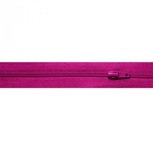 Fermeture à glissière au mètre violette
