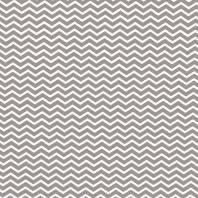 Coton chevron gris