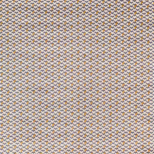 Coton motif cuivre