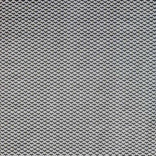 Coton motif argent