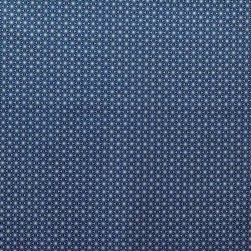 Coton fuji bleu nuit