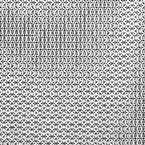Coton fuji noir et blanc