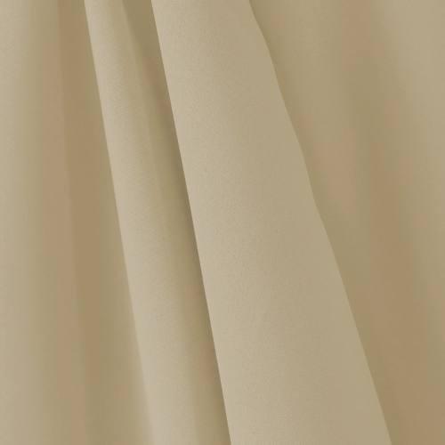 Tissu occultant grande largeur beige