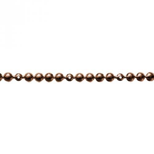 Bande de clous factices tapissier cuivre 9,5 mm