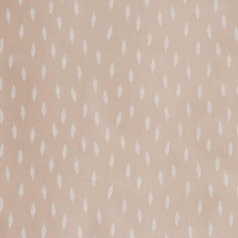 Coton blanc imprimé petits pois 2 mm