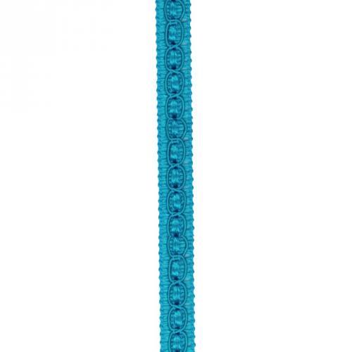 Galon fantaisie 10 mm bleu canard