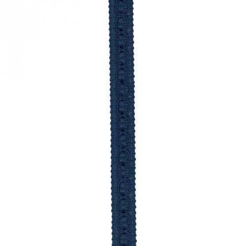 Galon fantaisie 10 mm bleu foncé