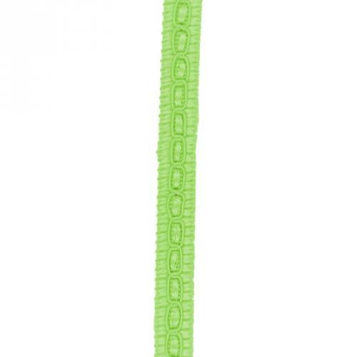 Galon fantaisie 10 mm vert