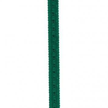 Galon fantaisie 10 mm vert sapin