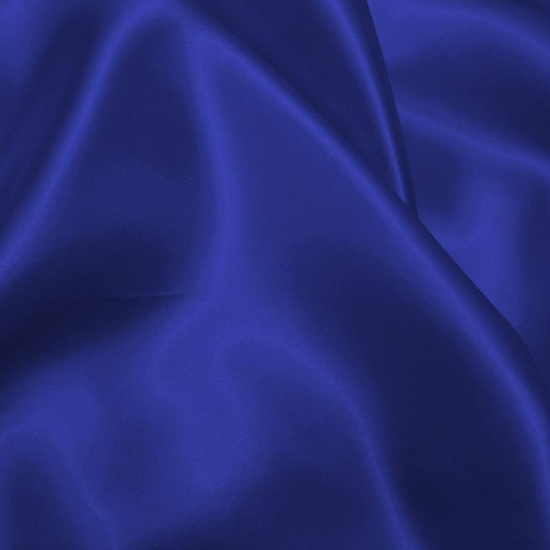 Satin uni bleu roi 150 cm