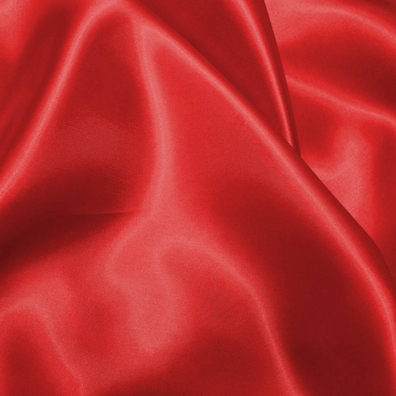 Satin uni rouge 150 cm
