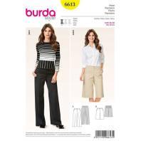 Patron Burda 6613 : Pantalon Taille : 36-50