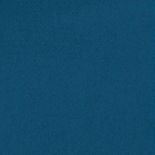 Toile coton demi-natté bleue pétrole