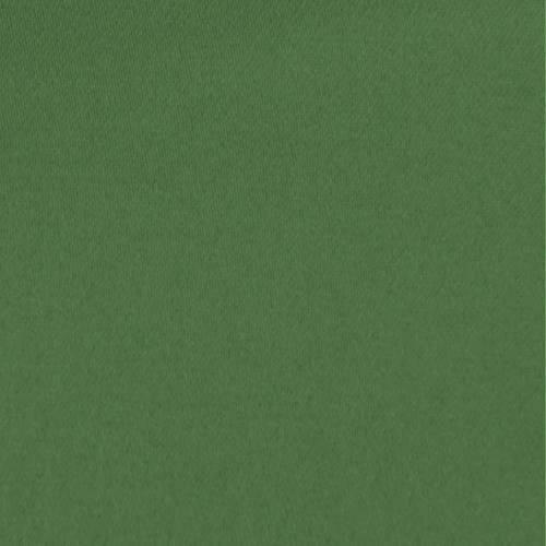 Toile coton demi-natté verte